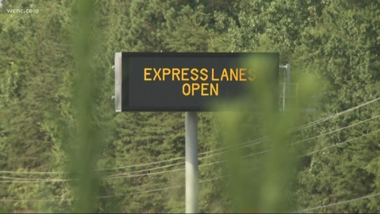 Remainder of I-77 Express lanes now open