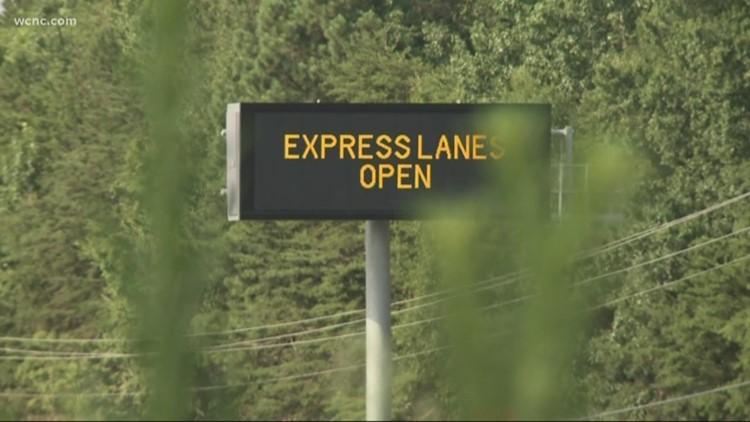 Remainder of I-77 Express lanes opening Saturday night