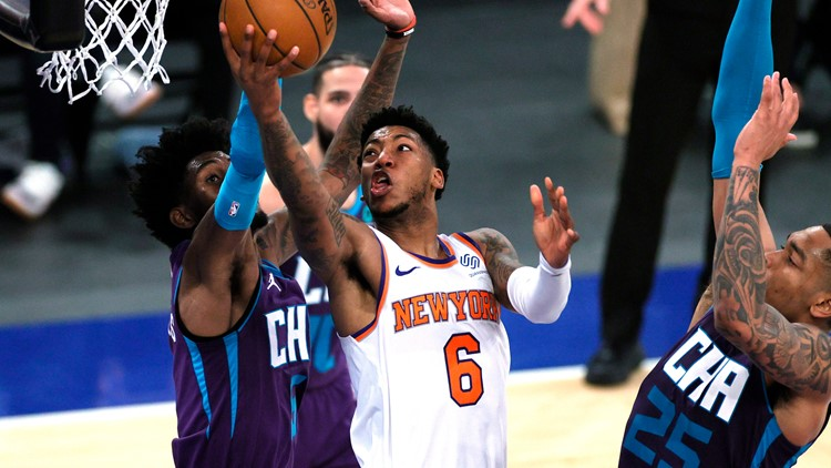 Knicks stay hot, beat Hornets 109-97