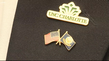 Navy veteran remembers trying to help friend during UNCC shooting