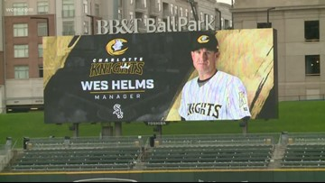 Charlotte Knights introduce new manager