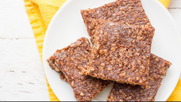 Recipe: Healthy no-bake cookie bars