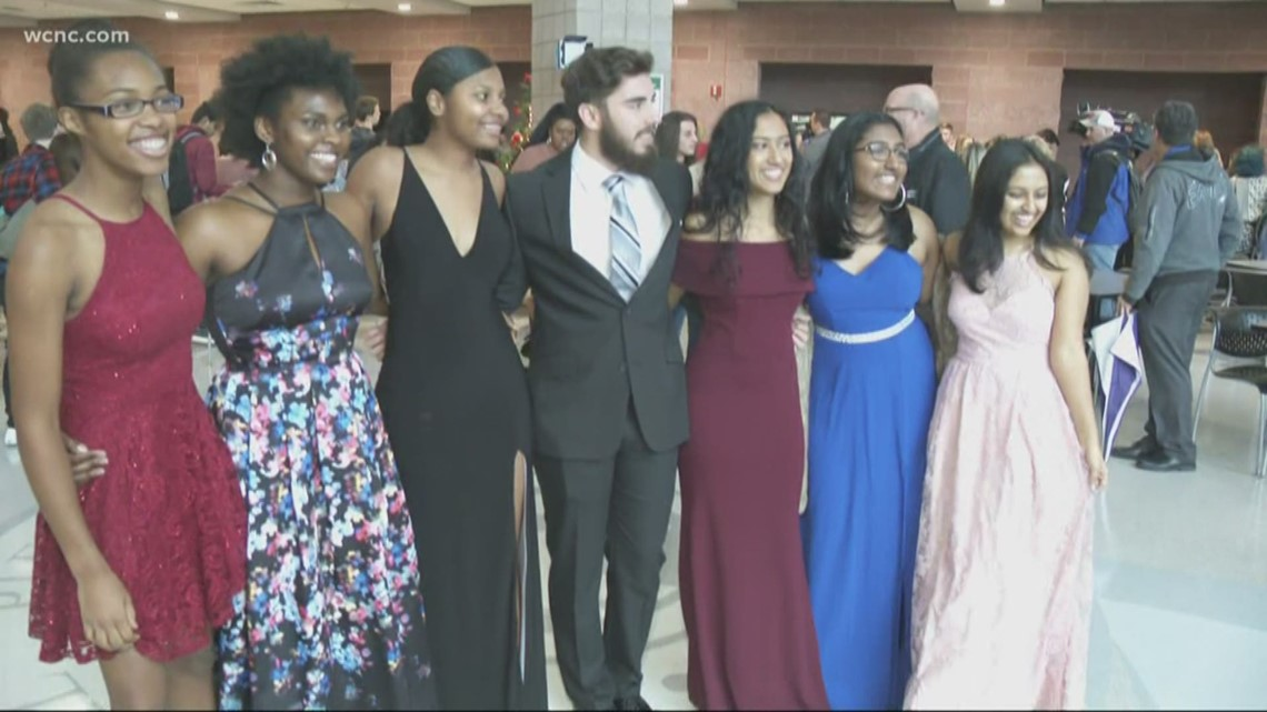 'It's truly a blessing' | Belk funds entirety of Matthews high school's prom