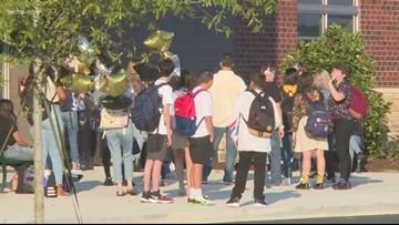 Security upgrades, new high school highlight first day of school in South Carolina