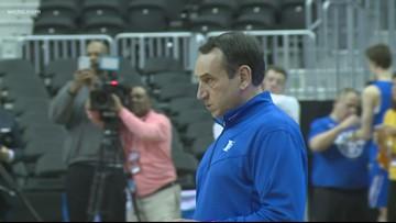 Duke prepares for Michigan State in Elite 8