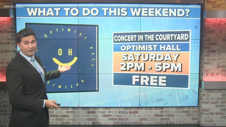 3 things to do this weekend