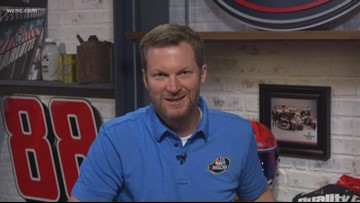 Dale Earnhardt Jr. talks 1-on-1 with WCNC