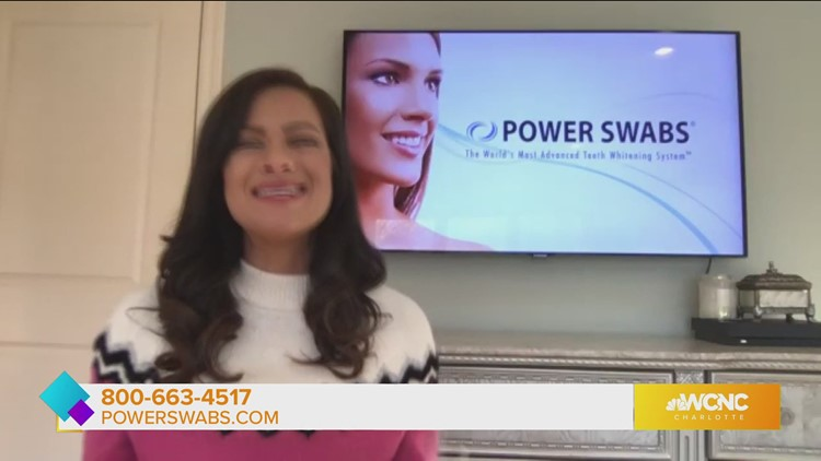 Brighten your smile with Powerswabs teeth whitening products