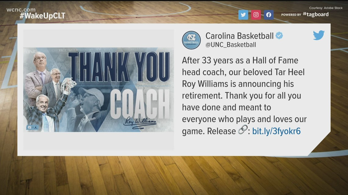 College basketball reacts to Roy Williams retirement