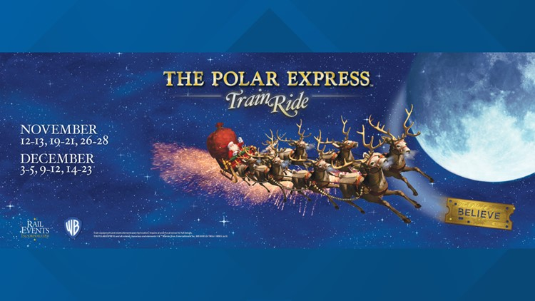 Passengers of Polar Express train at NC Transportation Museum must show proof of COVID-19 vaccination or negative test results