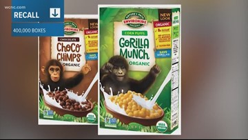 Nature's Path recalls 400,000 boxes of gluten-free cereal
