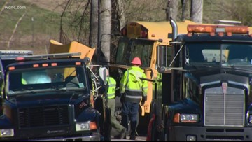 Driver accused of going 86 mph before crashing into school bus to appear in court