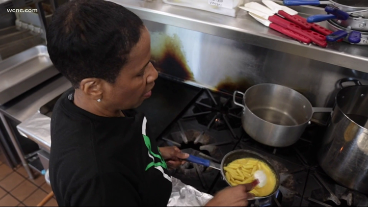 Black communities have little access to healthy food options. A Charlotte chef cooked up an idea to change that