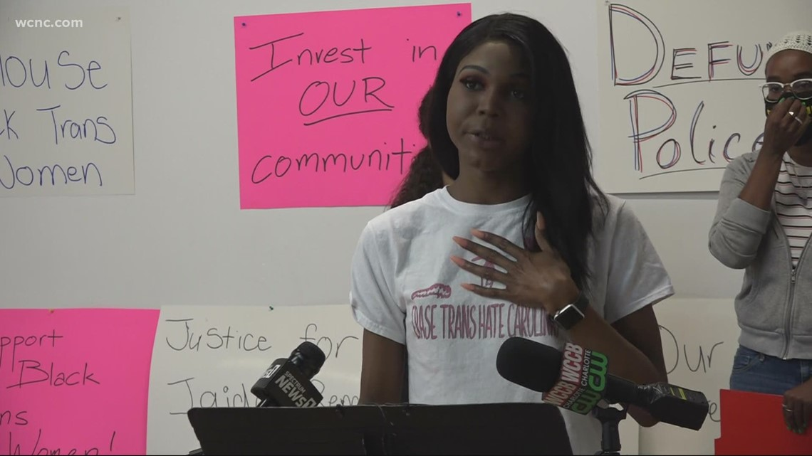 The LGTBQ community calls for action after recent violence in Charlotte