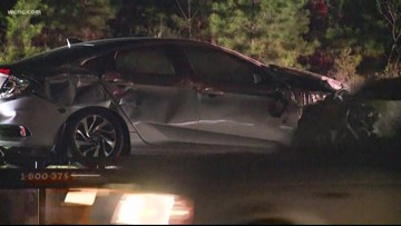 Impaired driver causes wreck on I-485, sends five to the hospital