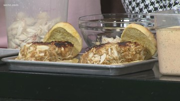 Best crab cakes in Charlotte
