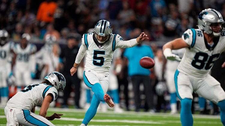 Carolina Panthers to meet the Giants at MetLife Stadium Sunday