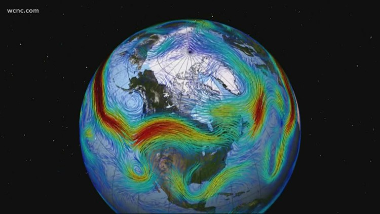Why are Carolina winters so warm? Blame the weirding of the jet stream.
