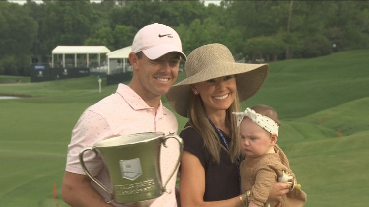Sunday marks special Mother's Day victory for McIlroys