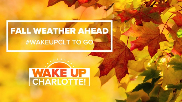 Fall arrives in the Carolinas this weekend: #WakeUpCLT To Go Friday, Oct. 15