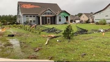 Tornado rips through  Brunswick County as Dorian continues to blast NC coast