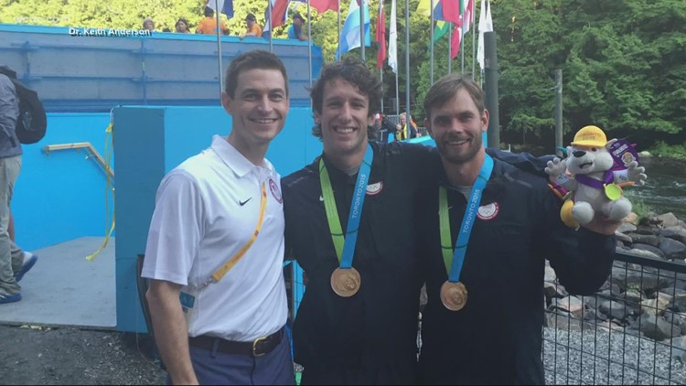 Team doctor keeps athletes on course, despite missing out on Tokyo Olympics