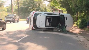 School bus involved in south Charlotte accident, police say