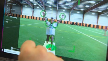 Predicting injuries? School district brings in motion-sensing cameras to better athletes