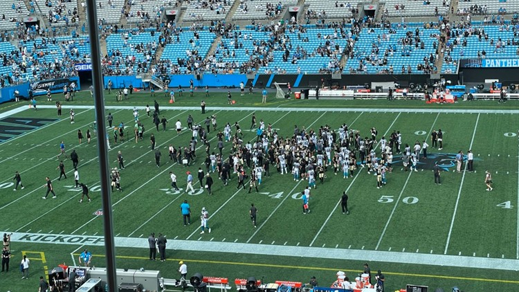 Carolina Panthers vs. New Orleans Saints play-by-play