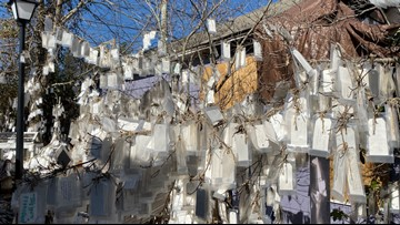 23,000 Prayers and counting, Blowing Rock's 'Prayer Tree' brings hope, miracles, healing and love
