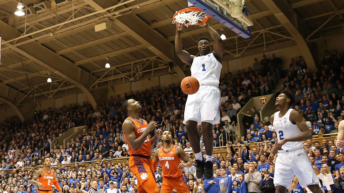 Duke's Zion Williamson entering NBA Draft