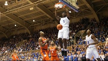 Duke's Zion Williamson entering NBA Draft