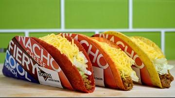 Taco Bell to remove nine menu items