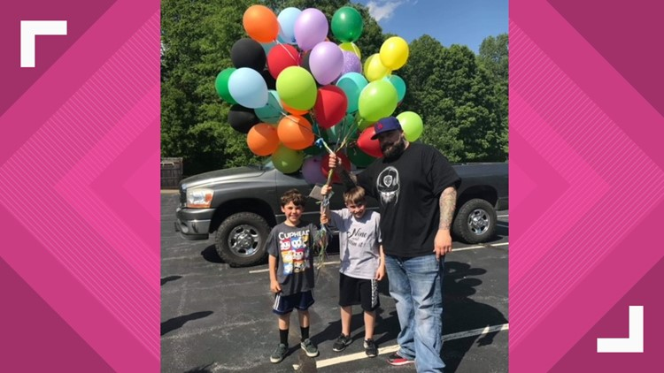 'I Hope This Helps Somebody,': 9-year-old Greensboro boy sends up balloons with money on his birthday year after year