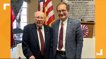 Two Triad WWII veterans knighted for service in France