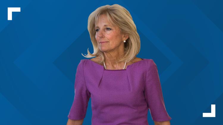 First Lady Jill Biden coming to the Carolinas Sunday