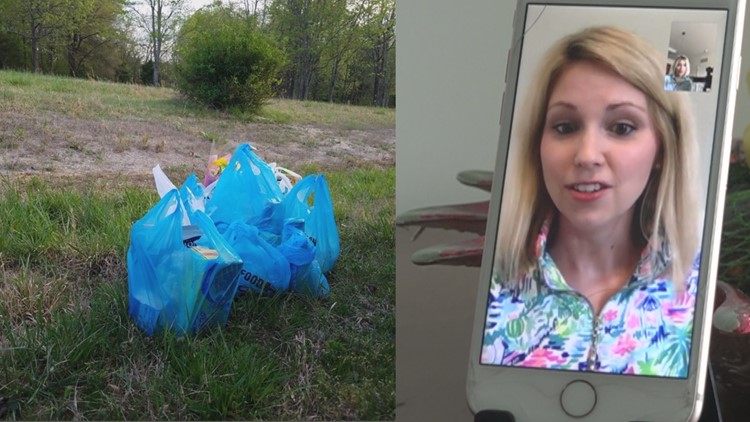 'They left my groceries on the side of the road' | North Carolina mom says Instacart delivery never came