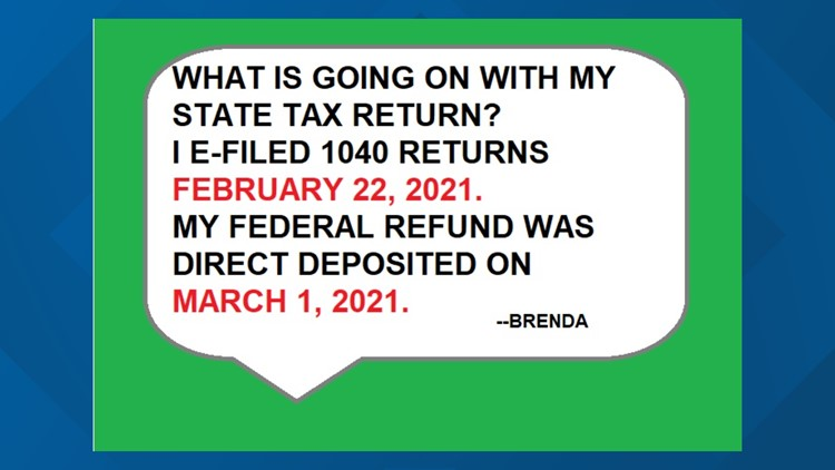 Where is your NC state tax refund?