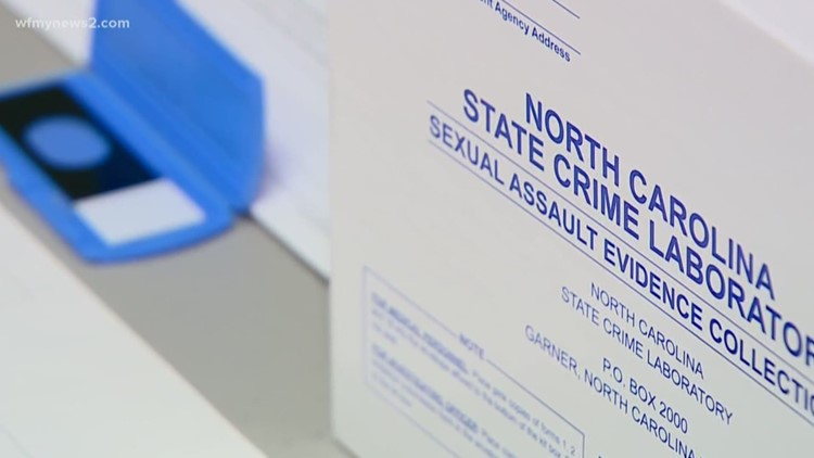 North Carolina makes progress in clearing state's sexual assault kit backlog