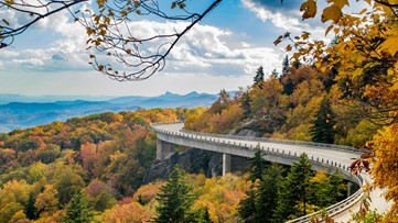Best Places To View The Fall Colors Along The Blue Ridge Mountains Down To The Milepost!