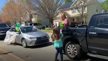 12-year-old girl receives special birthday parade after birthday plans get ruined due to COVID-19