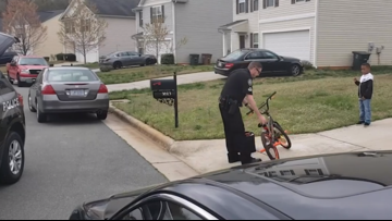 Police surprise NC boy after his birthday Make-A-Wish dreams get canceled