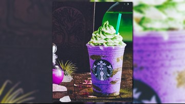 Starbucks unveils spooky Frappuccino for Halloween