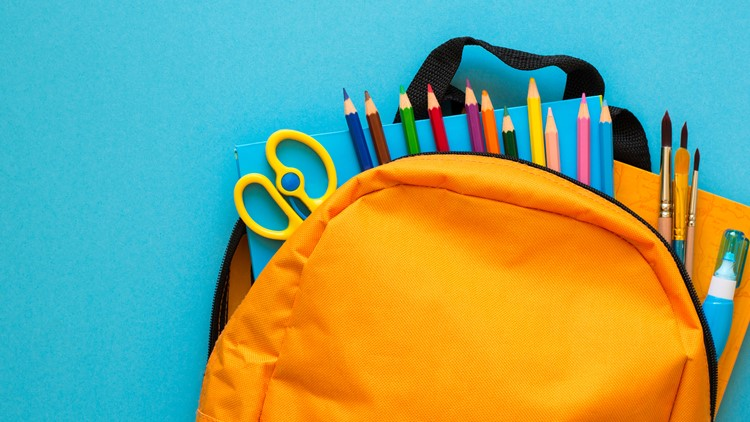 Charlotte students who are homeless receive free school supplies at backpack giveaway