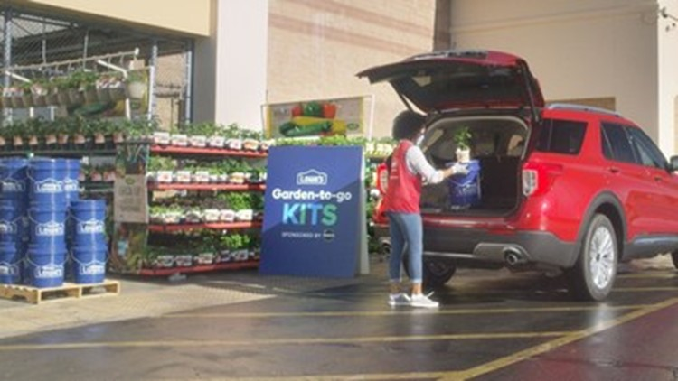 Get in the spring spirit! Lowe's to offer free curbside Garden-to-Go kits