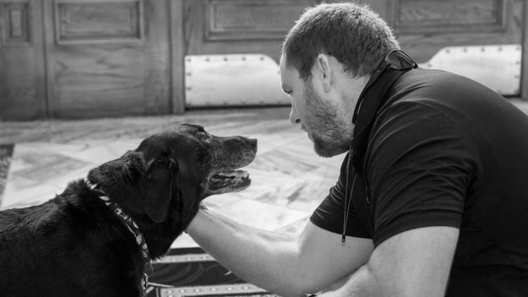Veteran reunites with K-9 eight years after serving together
