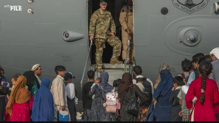 Agencies in SC waiting to help Afghan refugees