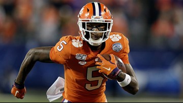 Clemson's Tee Higgins is headed to the NFL