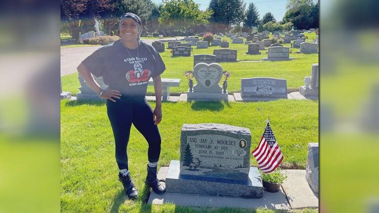 18 years later, Columbia veteran fulfills promise to late husband