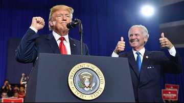 Trump offers early endorsement for loyal SC governor